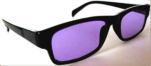 Devardi Glass~Aero-Pro Optics Clip-on Flip-up Magnifier Glasses 3 X ~Lampwork